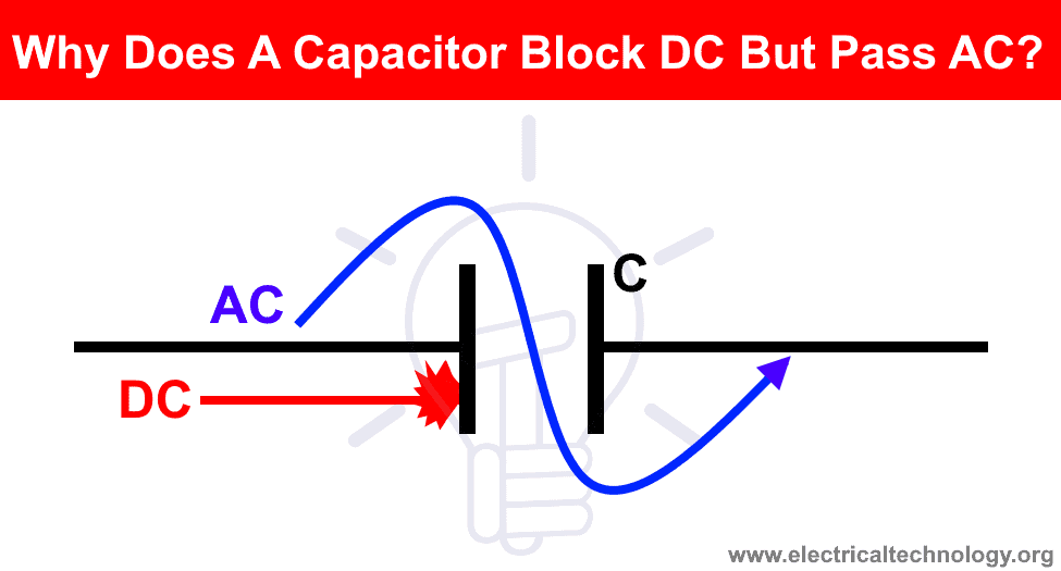 Why Does A Capacitor Block DC But Pass AC