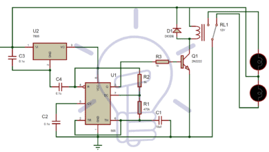24v flasher circuit diagram