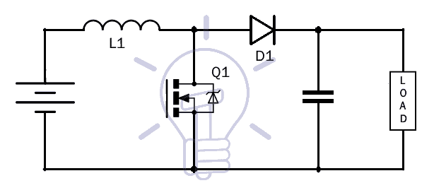 What Is Boost Converter  Circuit Diagram And Working