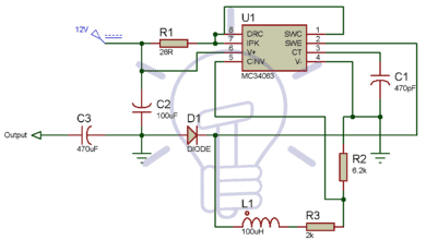 Photo of 12V to 5V Converter Circuit – Boost and Buck Converters