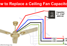 Photo of How to Replace a Ceiling Fan Capacitor – 3 Ways