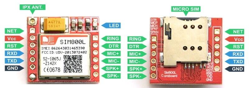 TTL SIM800 GSM Module