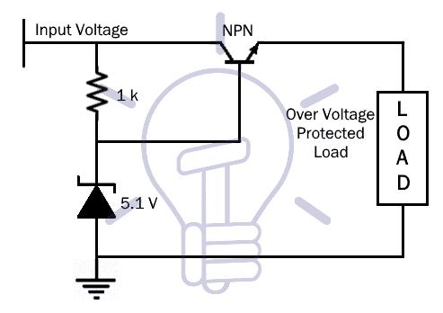 Zener Voltage Regulator Circuit