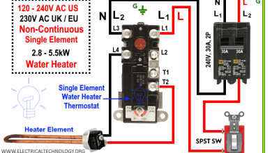 Photo of How to Wire a Single Element Water Heater and Thermostat?