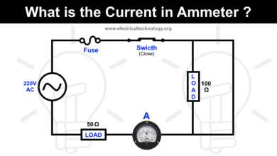 Photo of What is the Current in Ampere Meter?
