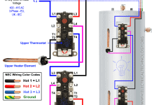Photo of How to Wire 3-Phase Non-Simultaneous Water Heater Thermostat?