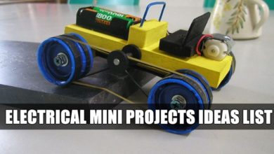 Photo of Top Electrical Mini Projects Ideas List