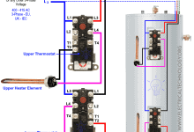 Photo of How to Wire 3-Phase Simultaneous Water Heater Thermostat?