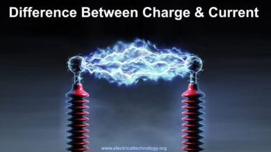 Difference Between Charge and Current