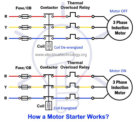 How Motor Starter Works