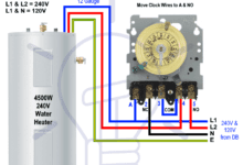 Photo of How to Toggle Electric Water Heater Between 120V and 240V?