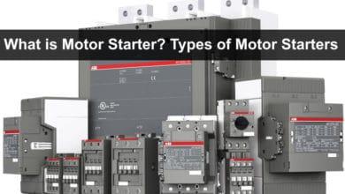 What is Motor Starter Types of Motor Starters and Motor Starting Methods