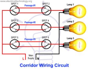 Corridor Light Control Using Switches