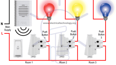 Photo of Hotel Wiring Circuit – Bell Indicator Circuit for Hotelling