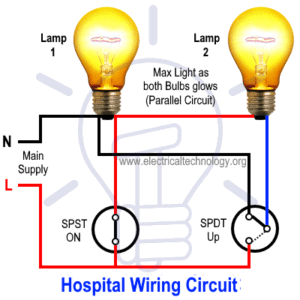 Light Control using switches