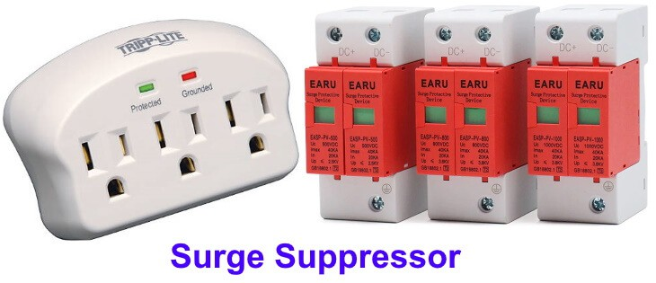 Surge Suppressor, surge protector and transient suppressor