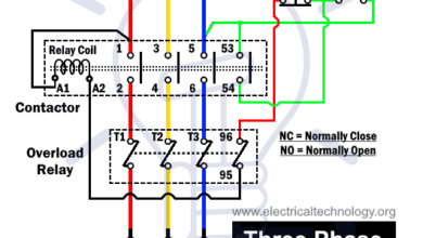 Photo of Direct Online Starter – DOL Starter Wiring Diagram for Motors