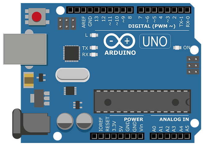 Arduino UNO for Railway Gate Control Circuit