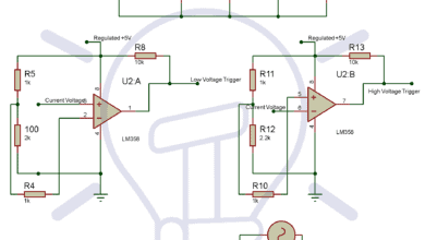 Circuit Diagram of Electronic Circuit Breaker