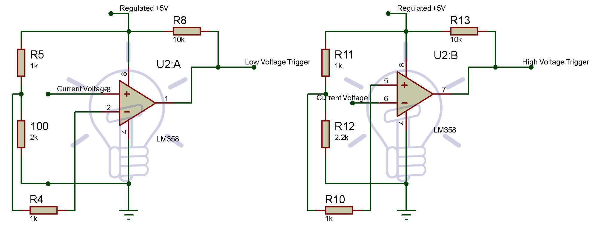 Op-amp Section