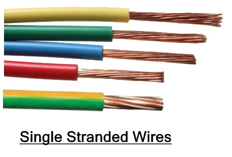 Single Stranded Wires