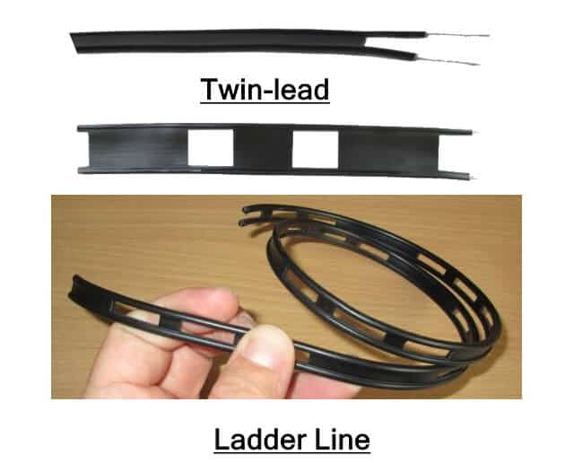 Twin-Lead Ladder Line