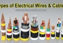 Photo of Types of Electrical Wires and Cables