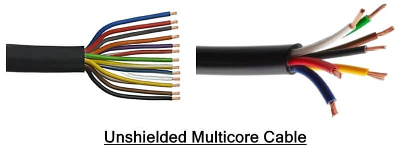 Unshielded Multicore cable