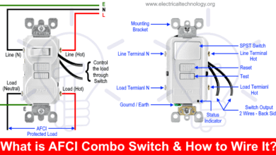 Photo of How to Wire an AFCI Combo Switch – AFCI Switch Wiring Diagrams