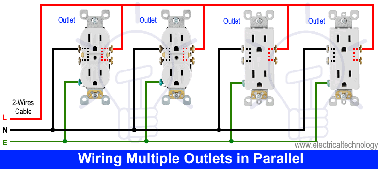 Wiring Multiple Outlets in Parallel