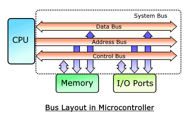 Bus Layout in Microcontroller