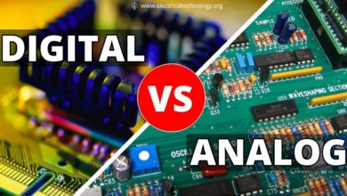 Difference between Analog and Digital Circuit