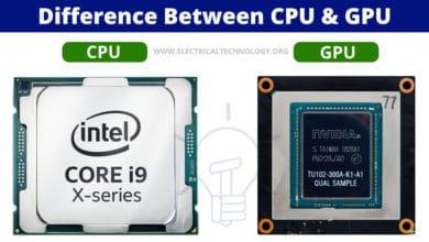 Difference between CPU & GPU