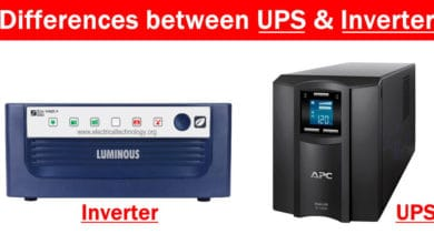 Photo of Difference between Inverter & UPS – Uninterruptible Power Supply
