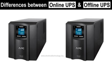 Differences between Online UPS & Offline UPS