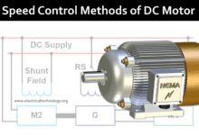 Photo of Speed Control of DC Motor – Voltage, Rheostatic & Flux Control Methods