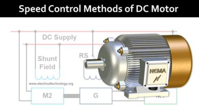 Photo of Speed Control of DC Motor – Voltage, Rheostatic & Flux Control Methods