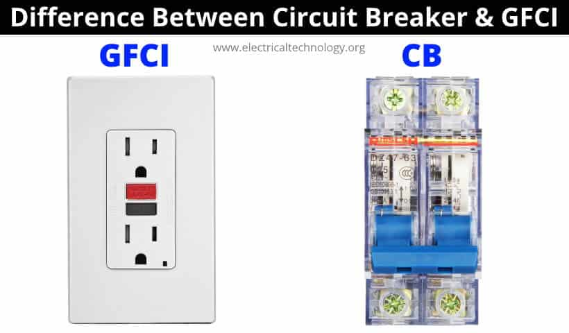 Difference Between Circuit Breaker and GFCI