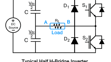 Photo of Half H-Bridge Inverter – Its Modes of Operation with Waveforms