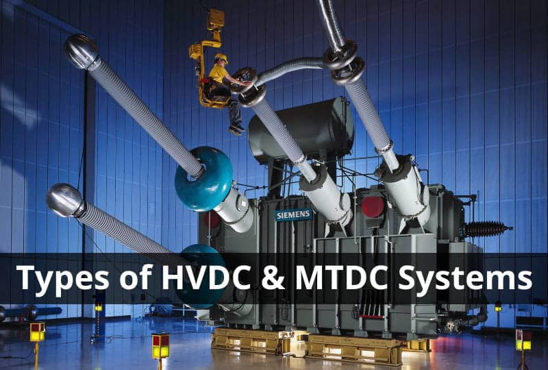 Types of HVDC System Configurations & MTDC Systems