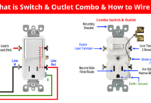 Photo of How to Wire Combo Switch and Outlet? – Switch/Outlet Combo Wiring Diagrams