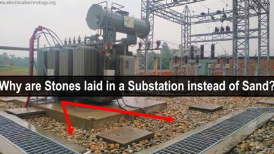 Photo of Why are Stones laid in an Electrical Substation?