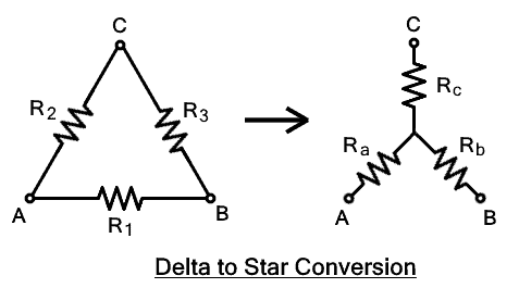 Delta to Star Conversion