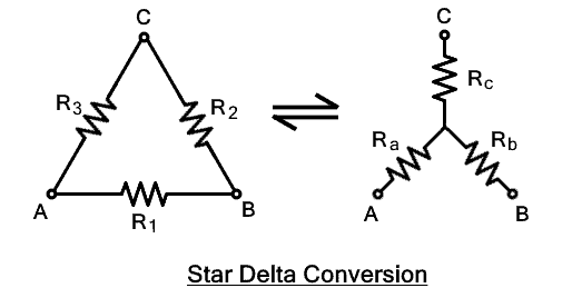 Star-Delta Conversion