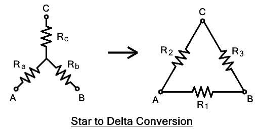 Star to Delta Conversion