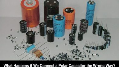 What Happens When You Connect an Electrolytic Polarized Capacitor in The Reverse Polarity