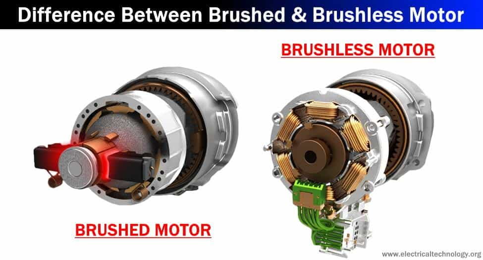 Differences Between Brushed Motor and Brushless Motor