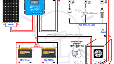 How to Wire Batteries in Series-Parallel Combo Connections With PV Panel