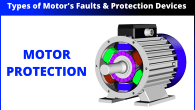 Motor Protection - Types of Faults and Protection Devices