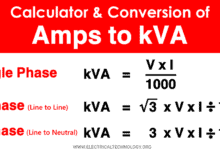 Amps to kVA Calculator - How to Convert Amps to kVA